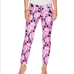 Nwt- Lilly Pulitzer ankle pants sz 0